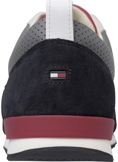 Tommy Hilfiger Erkek Iconıc Materıal Mıx Ru Sneakers FM0FM02273 Renkli